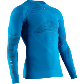 X-Bionic Energizer 4.0 T-shirt manches longues à col rond Homme, teal blue/anthracite